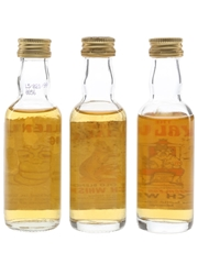 Scottish Collection Scotch Whisky Millennium Bug, Official Seal & Royal Wee 3 x 5cl / 40%