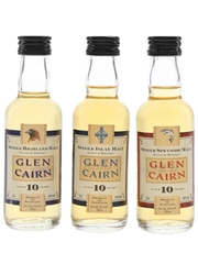Glen Cairn 10 Year Old Regional Malts Tesco 3 x 5cl / 40%