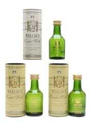 Wallace Single Malt Scotch Whisky Liqueur  3 x 5cl / 35%