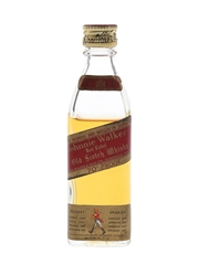 Johnnie Walker Red Label Bottled 1970s 5cl / 40%
