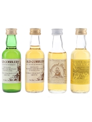 George Strachan Old Cobblers, Pheasant Plucker & Tinkers Dram Bottled 1980s 4 x 5cl / 40%