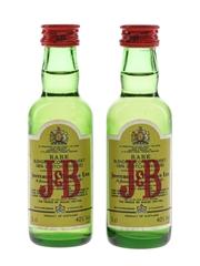 J & B Rare Bottled 1980s 2 x 5cl / 40%