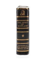 Rutherford's Spirit Of Scotland Ceramic Book Miniature 5cl / 40%