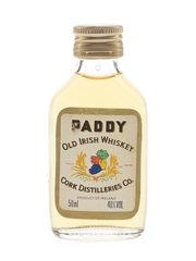 Paddy Old Irish Bottled 1980s 5cl / 40%
