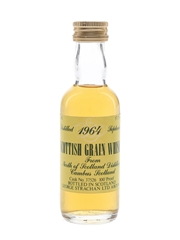 North Of Scotland 1964 100 Proof Bottled 1980s - George Strachan 5cl / 57.1%