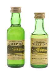 Sheep Dip 8 Year Old Bottled 1980s 2 x 5cl / 40%