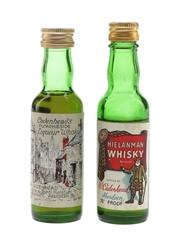 Cadenhead Hielanman & Putachiside Bottled 1970s 2 x 5cl