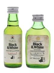 Buchanan's Black & White  2 x 5cl / 40%