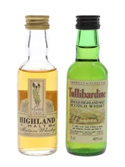 Tullibardine & Highland 10 Year Old  2 x 5cl / 40%