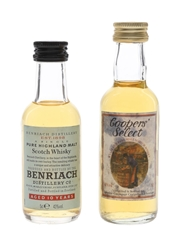 Benriach 10 Year Old & Coopers' Select 8 Year Old  2 x 5cl / 40%