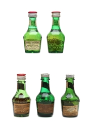 Benedictine DOM Bottled 1960s-1980s 5 x 3cl
