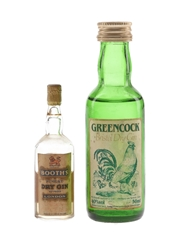 Booth's & Greencock Gin  1cl & 5cl / 40%