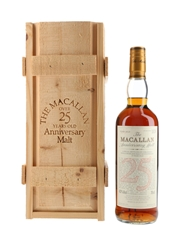 Macallan 1975 25 Year Old Anniversary Malt