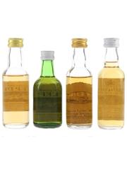 Poit Dhubh, Sheep Dip & Strathconon Bottled 1980s 4 x 5cl-5.6cl