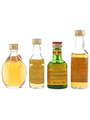 Dimple, Grand Macnish, John O'Groat's & Spey Cast Bottled 1970s-1980s 4 x 3cl-5cl / 40%