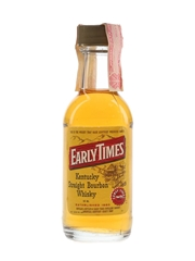 Early Times Bottled 1980s 5cl