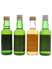 Catto's, Inver House, Langs Supreme & MacArthur's Bottled 1970s 4 x 4.7cl