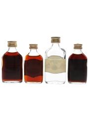 Caramba, Mainbrace, Trawler & Windjammer Bottled 1960s-1970s 4 x 5cl / 40%