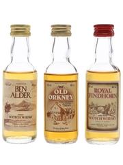 Ben Alder, Old Orkney & Royal Findhorn