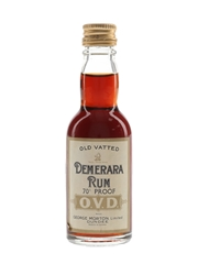 OVD Old Vatted Demerera Rum Bottled 1970s 5cl / 40%