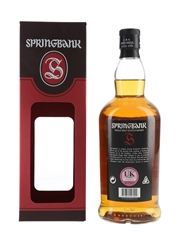Springbank 12 Year Old Cask Strength  70cl / 56.2%
