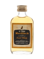 Mortlach 70 Proof Bottled 1970s - Gordon & MacPhail 5cl / 40%