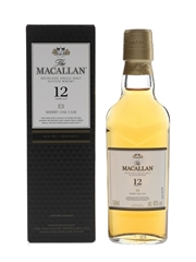 Macallan 12 Year Old Sherry Oak 5cl / 40%