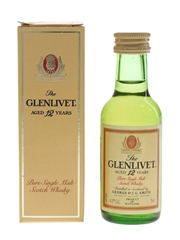 Glenlivet 12 Year Old Bottled 1980s 5cl / 43%