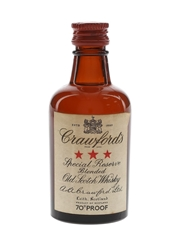 Crawford's 3 Star Bottled 1960s 5cl / 40%