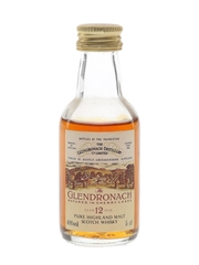 Glendronach 12 Year Old Sherry Cask Bottled 1980s 5cl / 40%