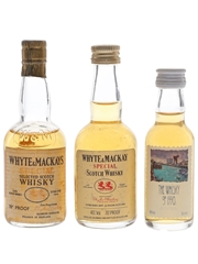 Whyte & Mackay Special Bottled 1960s-1990s 3 x 3cl-5cl / 40%