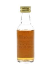 Glendullan 12 Year Old Bottled 1980s 5cl / 47%