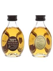 Haig's Dimple 15 Year Old Bottled 1980s - Korean & Israeli Market 2 x 5cl