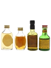 Cabrach, Dimple 12 Year Old, J & B 15 Year Old & John O'Groats Bottled 1980s & 1990s 4 x 5cl