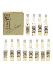 Long John Case The World's Smallest Bottles Of Whisky 12 x <1cl / 40%