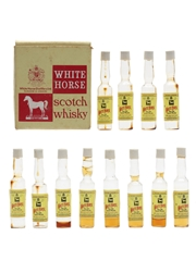White Horse Scotch Whisky Case The World's Smallest Bottles Of Whisky 12 x <1cl / 40%
