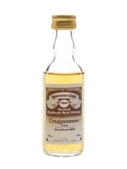 Cragganmore 1969 Connoisseurs Choice Bottled 1980s - Gordon & MacPhail 5cl / 40%