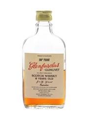 Glenfarclas Glenlivet 8 Year Old 100 Proof Bottled 1960s-1970s - Grant Bonding Co. 5cl / 57%