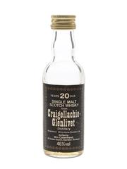 Craigellachie Glenlivet 20 Year Old Bottled 1980s - Cadenhead's 5cl / 46%