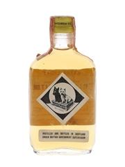 Buchanan's Black & White Extra Light Bottled 1950s-1960s - Fleischmann Distilling Corporation 4.7cl / 43.4%