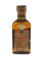 Dewar's Victoria Vat 12 Year Old Spring Cap Bottled 1930s - Schenley Import Corporation 4.7cl / 43.4%