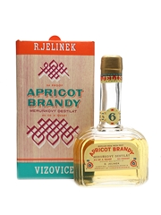 R Jelinek Apricot Brandy 6 Year Old Bottled 1970s 75cl