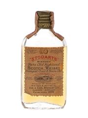 Stodart's 8 Year Old Bottled 1930s-1940s - Hiram Walker 4.7cl