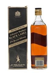 Johnnie Walker Black Label Extra Special Bottled 1980s 75cl