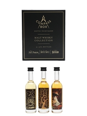 Compass Box Malt Whisky Collection Peat Monster, Spice Tree & Spaniard 3 x 5cl