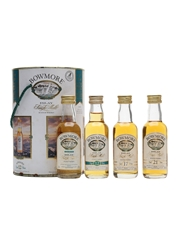 Bowmore Miniatures Collection Legend, 12, 17 & 21 Year Old Set 4 x 5cl / 43%