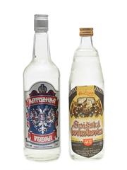 Spisska Borievkovica & Katuzhka Vodka  70cl & 75cl