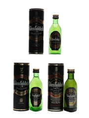 Glenfiddich Special Old Reserve Pure Malt Bottled 1980s-1990s 3 x 5cl / 40%