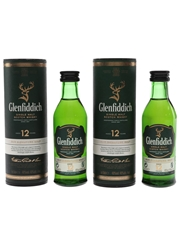 Glenfiddich 12 Year Old  2 x 5cl / 40%