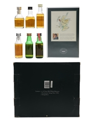 Classic Malts Of Scotland Miniatures With VHS Talisker, Oban, Glenkinchie, Dalwhinnie, Lagavulin (White Horse), Cragganmore 6 x 5cl